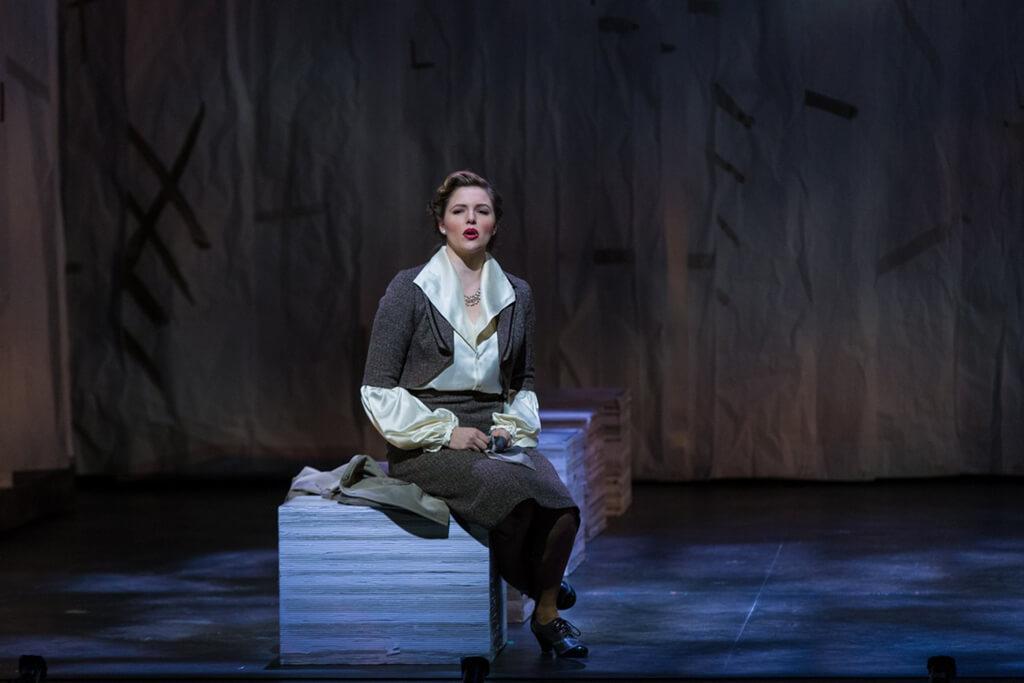 A Scene from University of Toronto Opera: Mozart'sDon Giovanni. 2017 (Photo: Richard Lu)