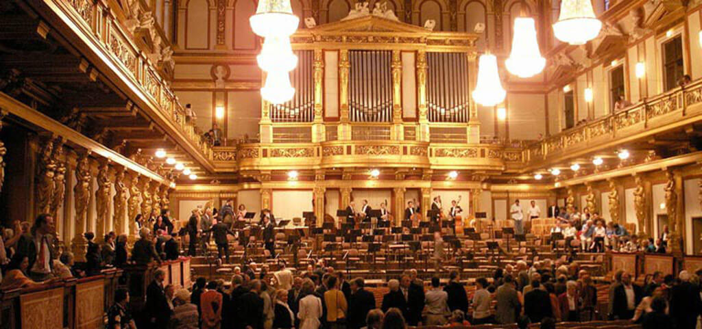 Vienna Musikverein, (Photo: Welleschik/Commons)