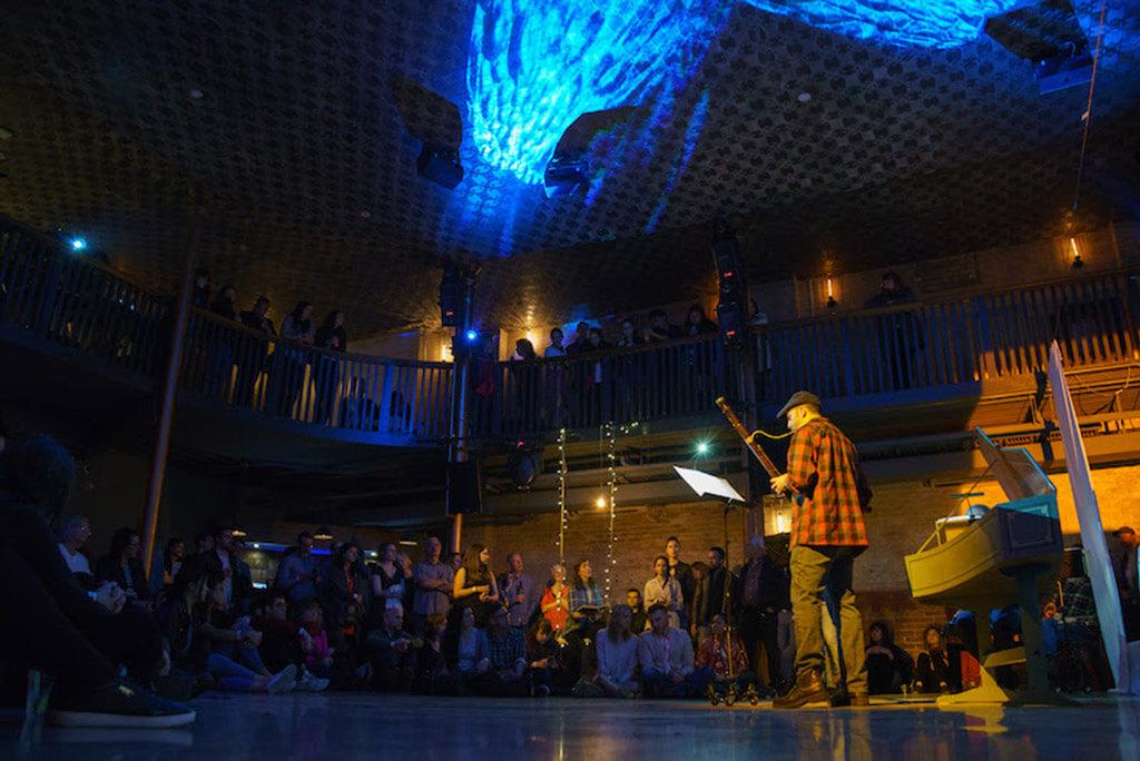 Haus Musik April 27, 2017 at Longboat Hall (Photo: Jeff Higgins)