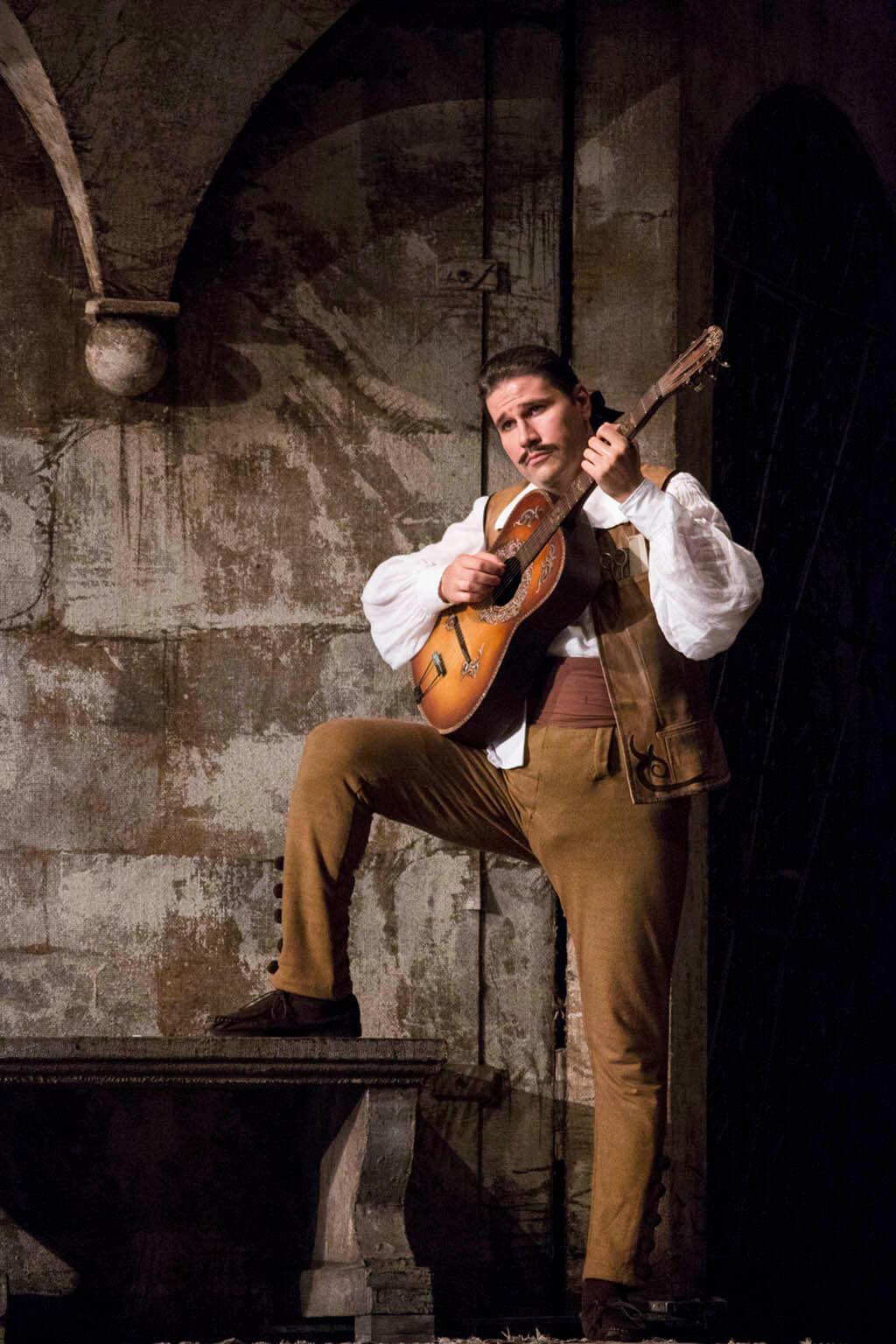 Baritone Massimo Cavalletti (Photo: Brescia e Amisano Teatro alla Scala)