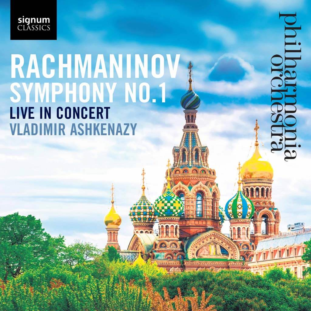 Rachmaninov: Symphony No. 1. Philharmonia Orchestra/Vladimir Ashkenazy. Signum Classics SUGCD484. Total Time: 43:23.