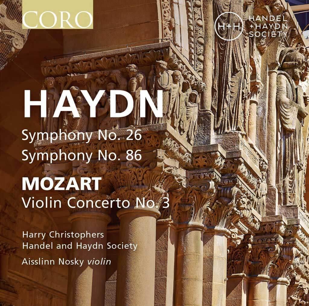 Haydn: Symphonies 26, 86; Mozart violin concerto (Coro)
