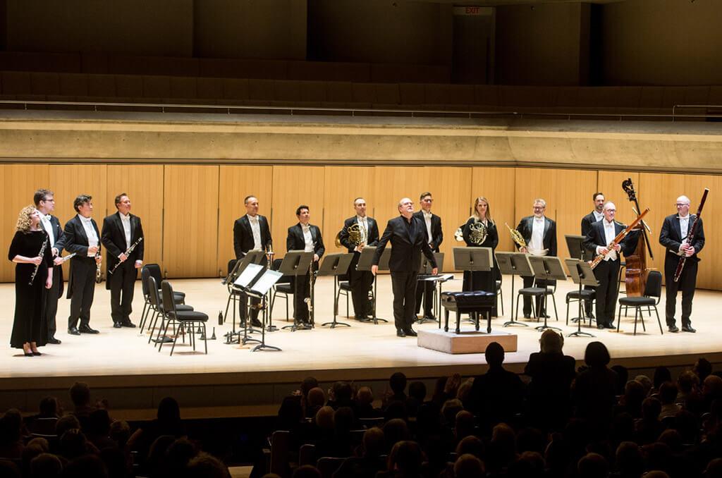 Bernard Labadie conducts Mozart's Gran Partita (Photo: Jag Gundu)
