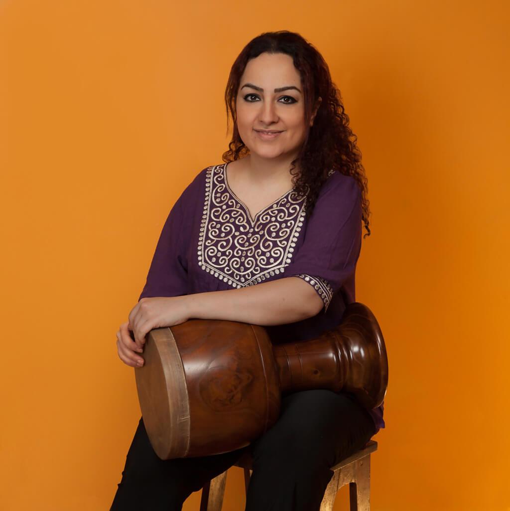 Naghmeh Farahmand (Photo courtesy of Tafelmusik)