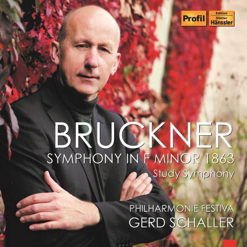"Bruckner: Symphony in F minor 1863 ""Study Symphony"" WAB 99. Philharmonie Festiva/Gerd Schaller. Profil PH15004. Total Time: 43:23."