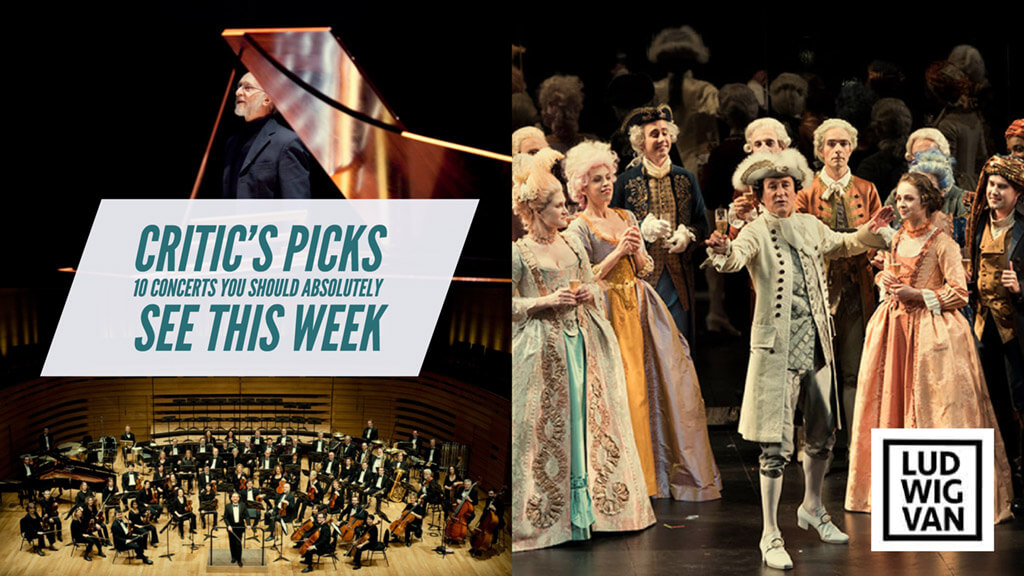 Classical music and opera events happening in and around Toronto for the week of February 5 – 11.