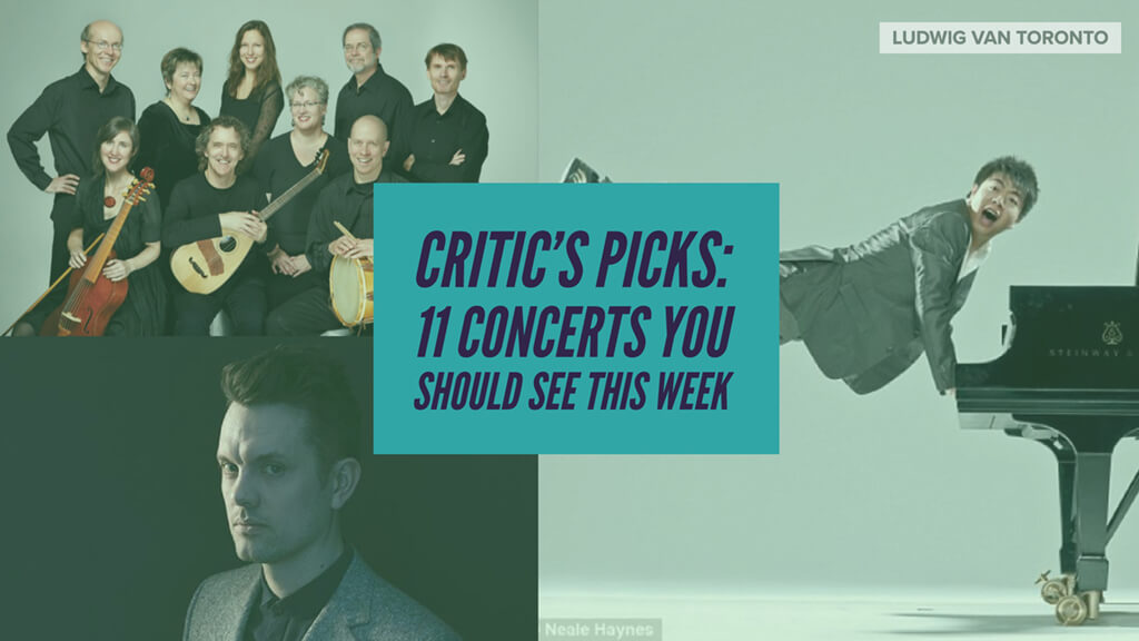 Classical music and opera events happening in and around Toronto for the week of February 26 – March 4.