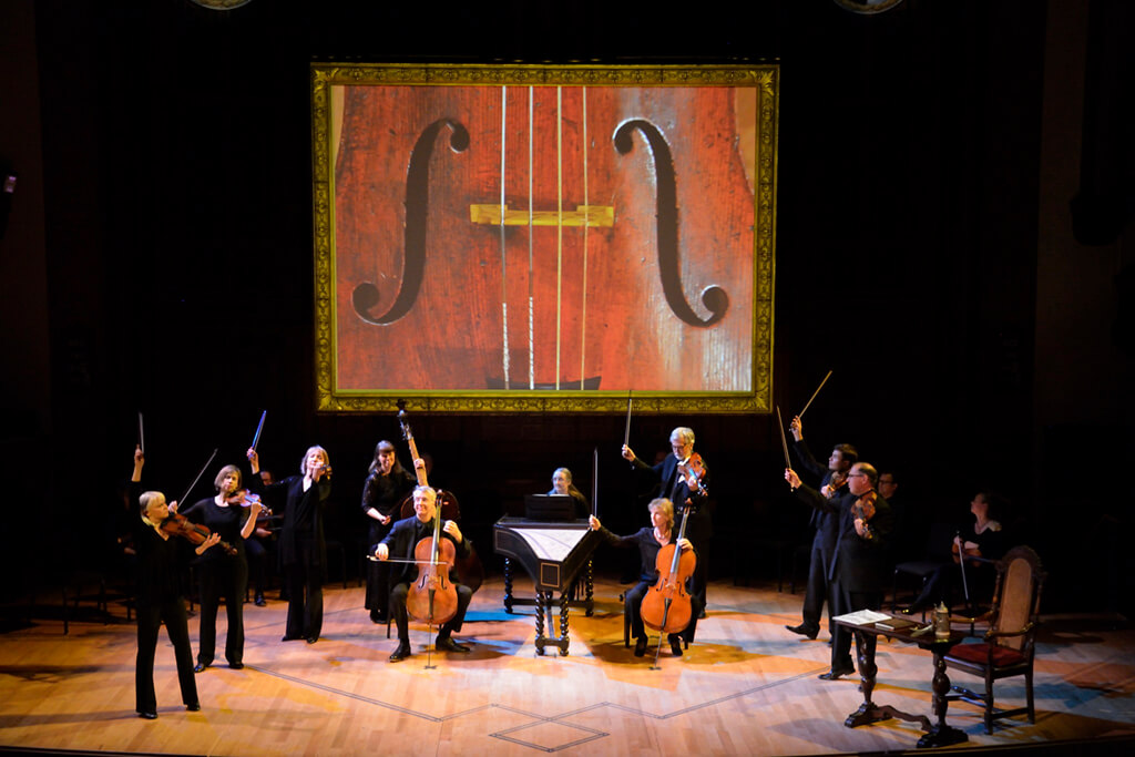Tafelmusik Baroque Orchestra, JS Bach: The Circle of Creation (Photo Glenn Davidson)