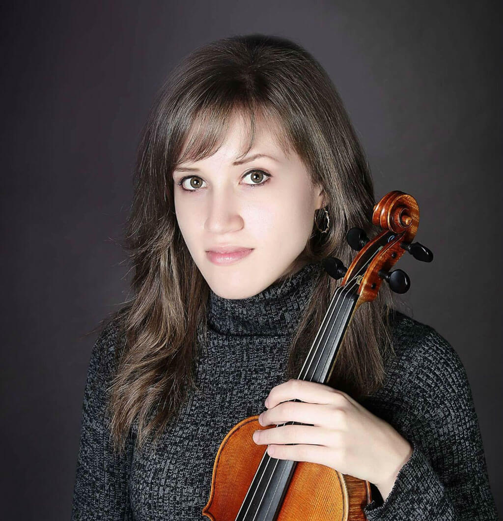 Emily Kruspe will become the newest member of the Rolston String Quartet. (Photo: Alisa Zaytseva)