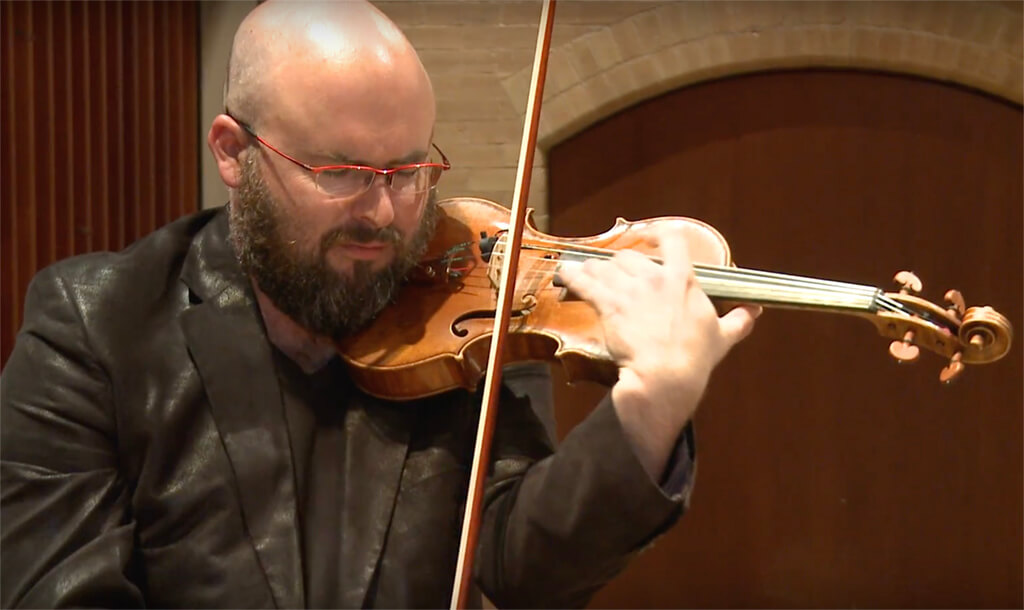 Mark Fewer, Canadian violinist and Juno award winner, has been named Artistic Director Designate of Stratford Summer Music (SSM).
