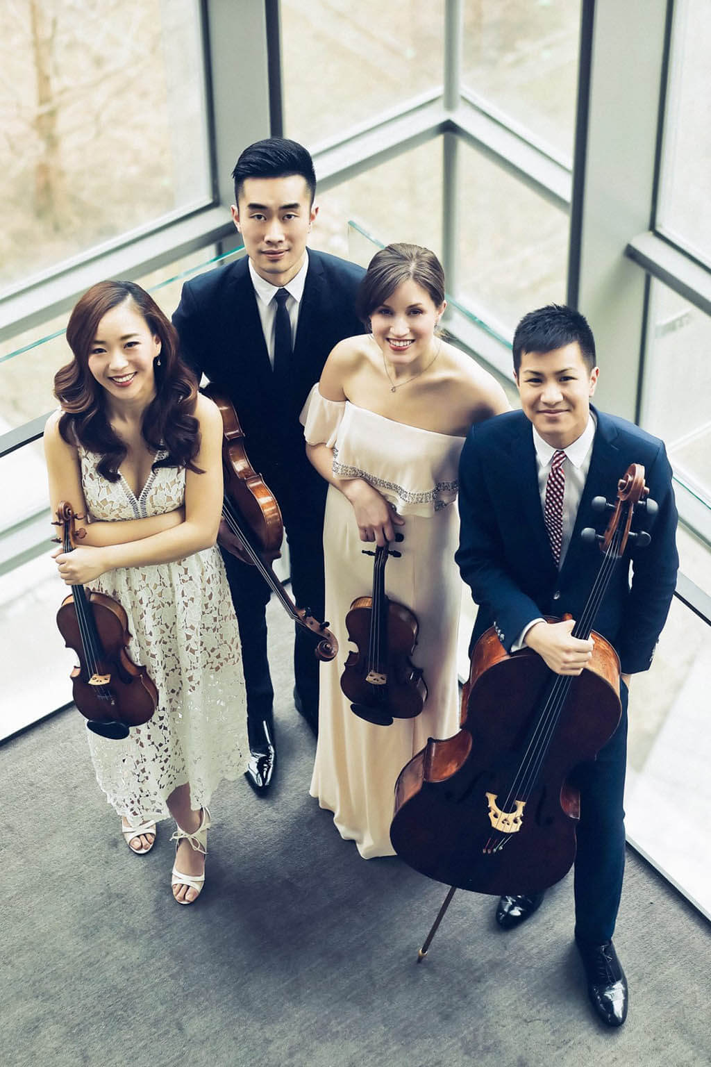 The reconfigued Rolston String Quartet will make their first public appearance at the RCM on April 8 (Photo: TianXiao Zhang)
