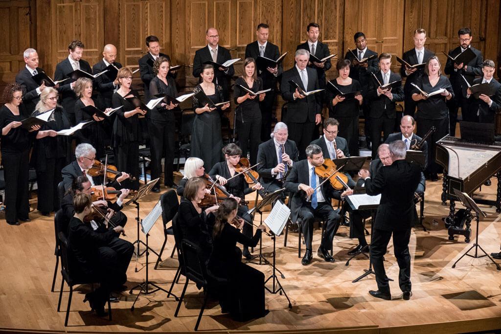 Tafelmusik Orchestra and Chamber Choir (Photo: Trevor Haldenby)