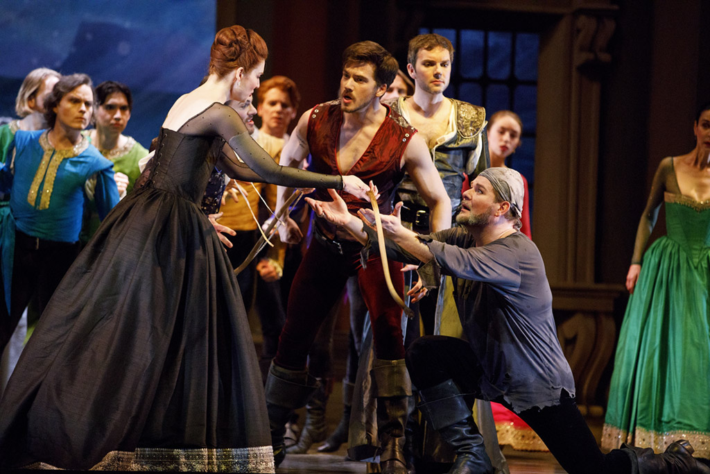 Company of The Return of Ulysses. (Photo: Bruce Zinger)