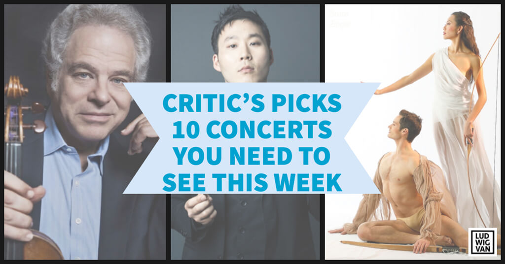 Classical music and opera events happening in and around Toronto for the week of April 16 – 22.