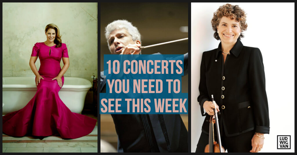 Classical music and opera events happening in and around Toronto for the week of April 30 – May 6.