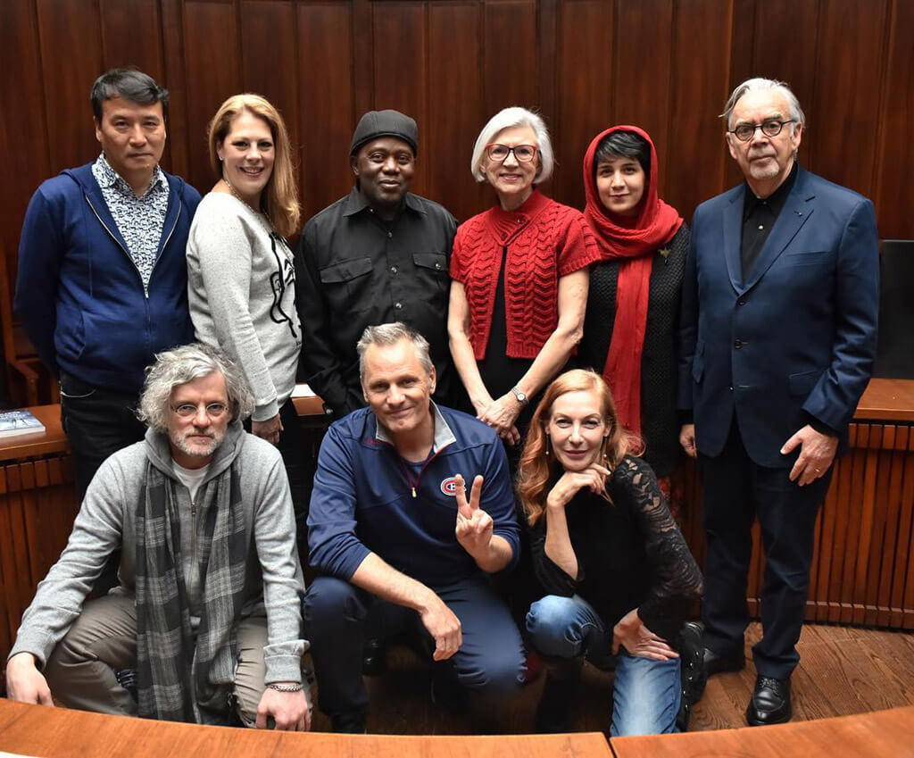 2018 Glenn Gould Prize Jury (Photo courtesy of the Glenn Gould Foundation)