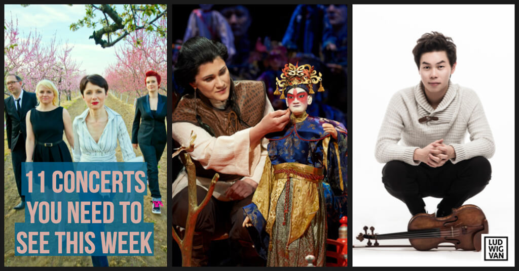 Classical music and opera events happening in and around Toronto for the week of May 7 – 13.