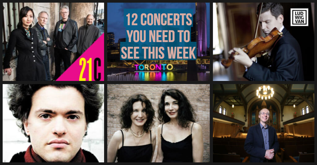Classical music and opera events happening in and around Toronto for the week of May 21 – 27.