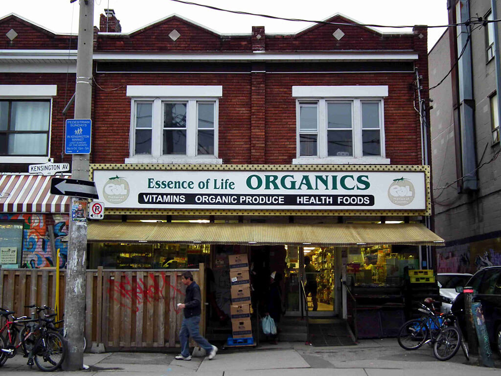Essence of Life Organics — Kensington Market