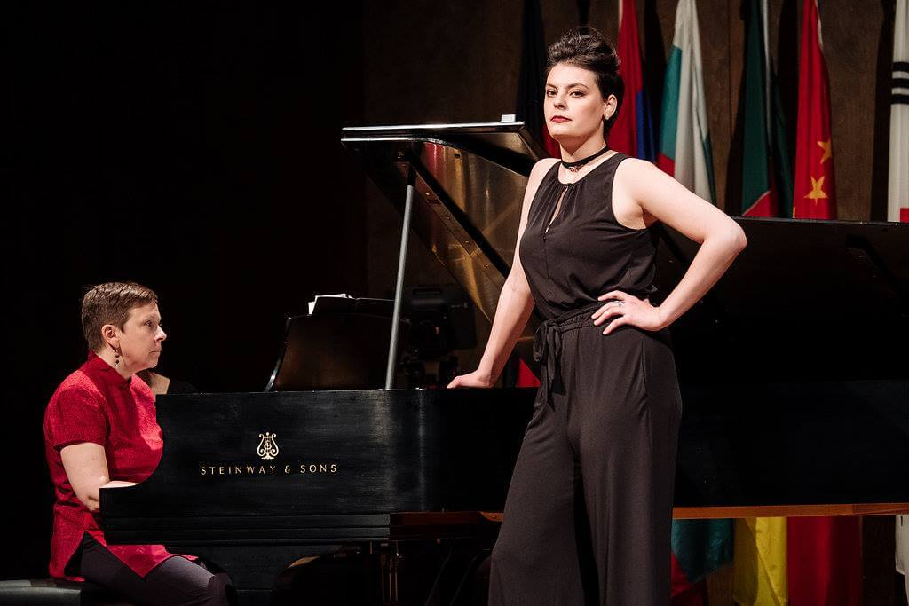 Emily D'Angelo at CMIM 2018 (Photo: Tam Lan Truong)