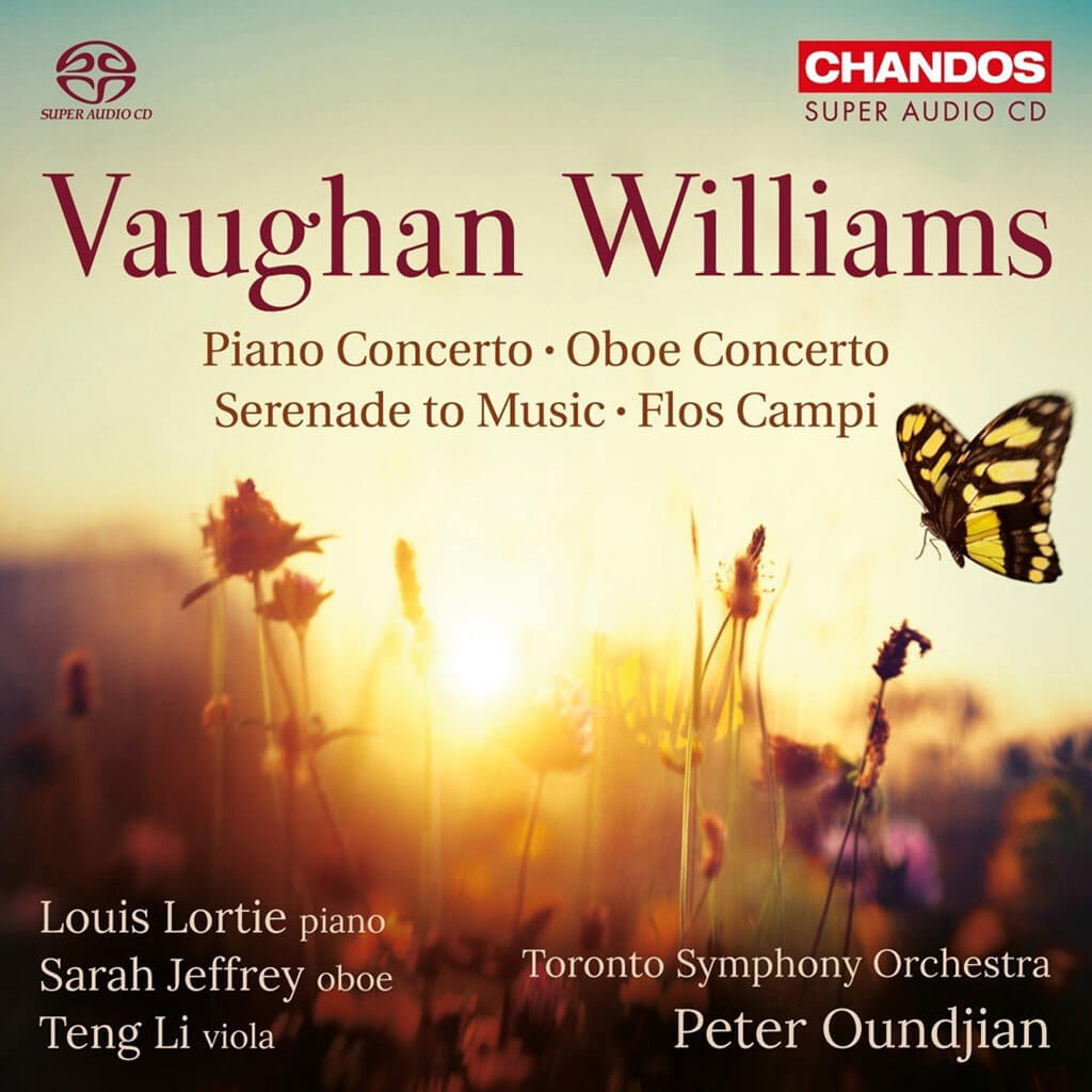 The TSO's celebratory release completing his fourteen-year tenure of Peter Oundjian as Music Director is top-shelf Vaughan Williams and a fitting tribute to the TSO/Oundjian legacy.