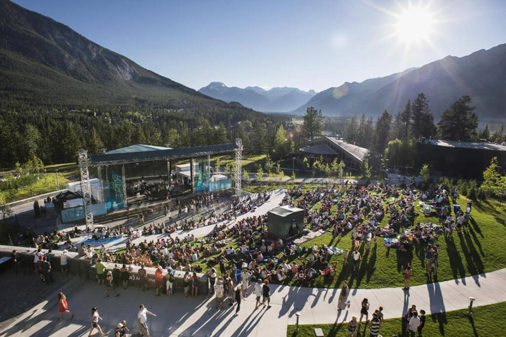 Outdoor Shaw Amphitheatre (Photo courtesy the Banff Centre)