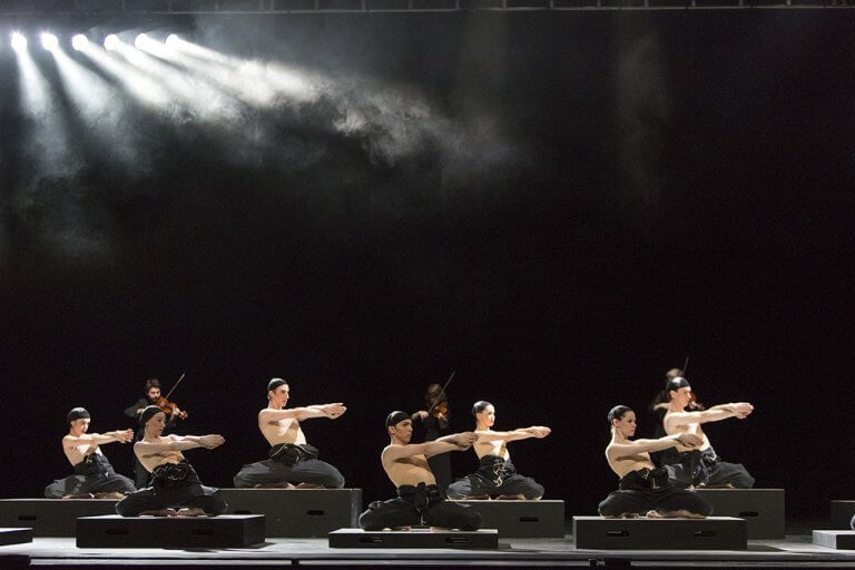Artists of the National Ballet in Cacti. (Photo: Aleksandar Antonijevi)