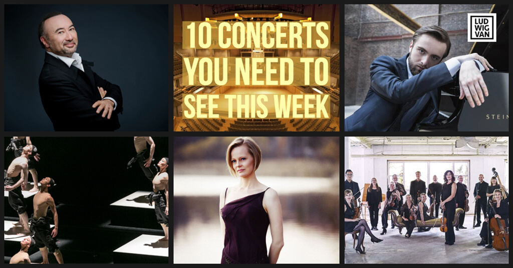 Classical music and opera events happening in and around Toronto for the week of June 11 – 17.