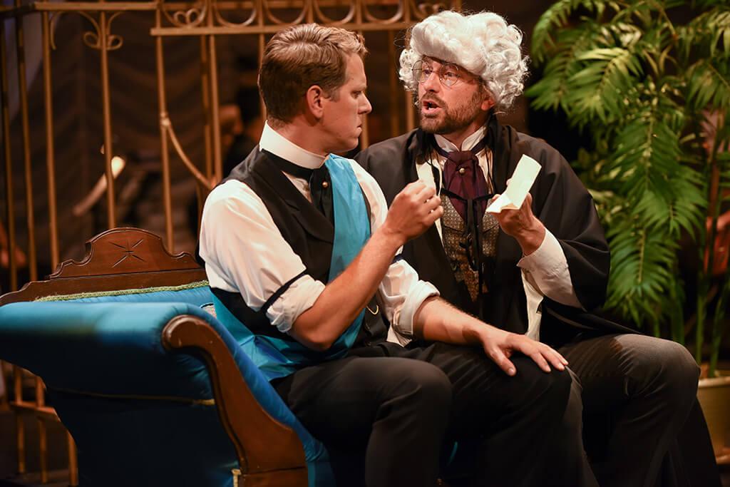 Opera 5, Il barbiere di Siviglia; Jeremy Ludwig, Kevin Myers
