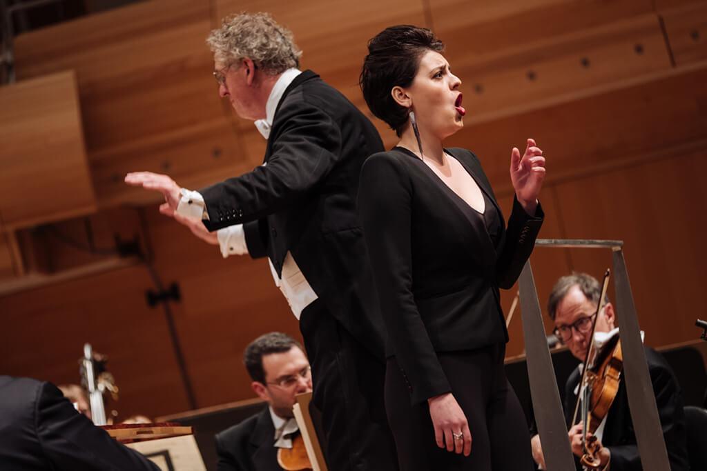 CMIM 2018, Emily D'Angelo with Orchestre symphonique de Montreal, conductor: Graeme Jenkins (Photo: Tam Lan Truong)