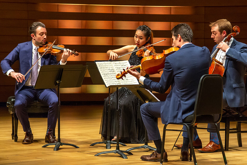 Escher String Quartet (Photo: James Ireland)