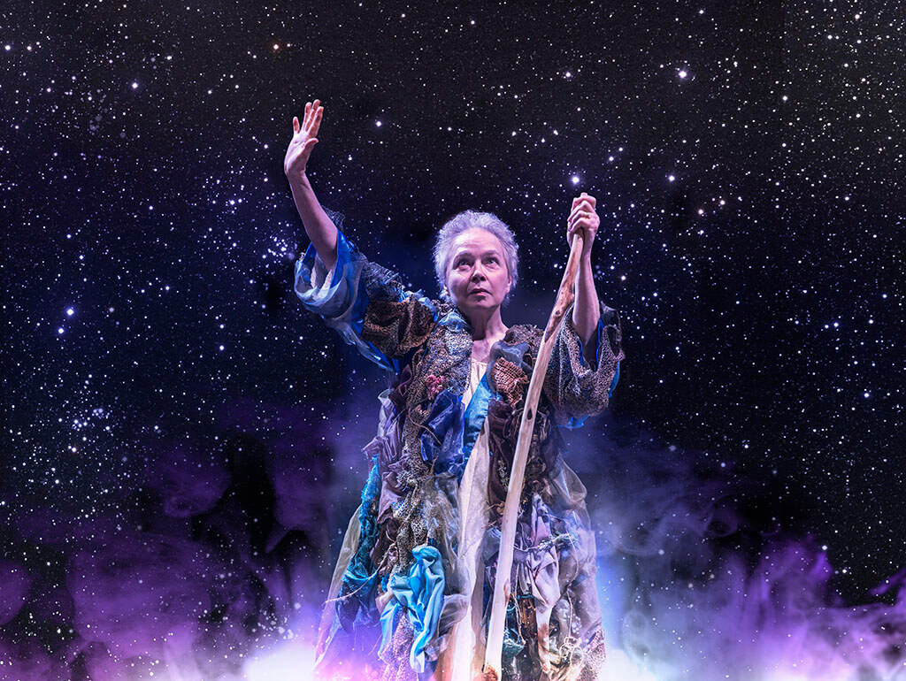 Martha Henry as Prospero in The Tempest. (Photo: David Hou)