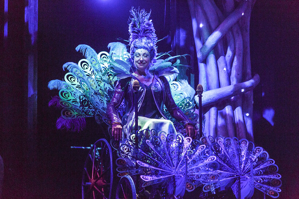Lucy Peacock as Juno in The Tempest. (Photo: David Hou)