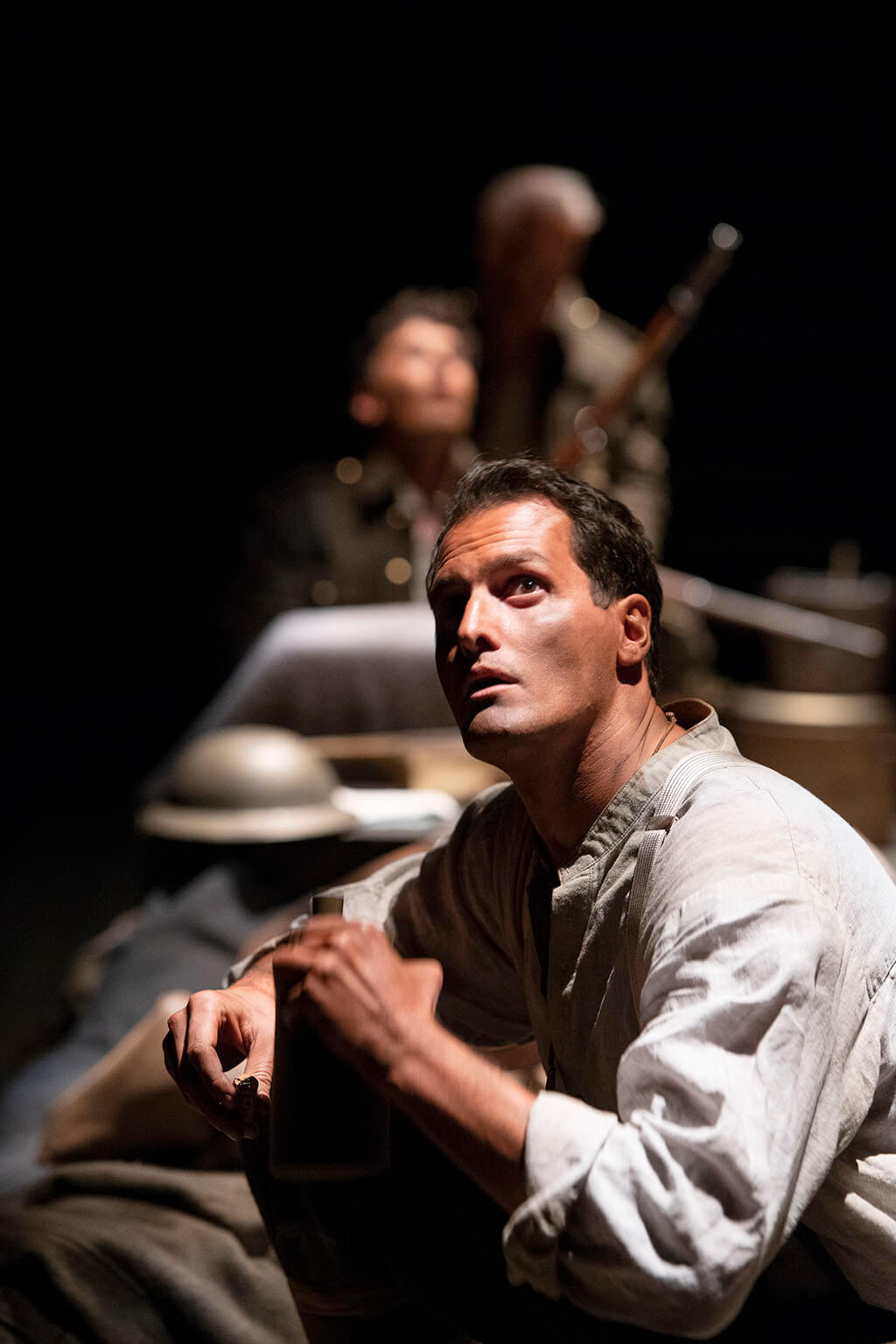 Kristopher Bowman in Henry V. (Photo: David Cooper)