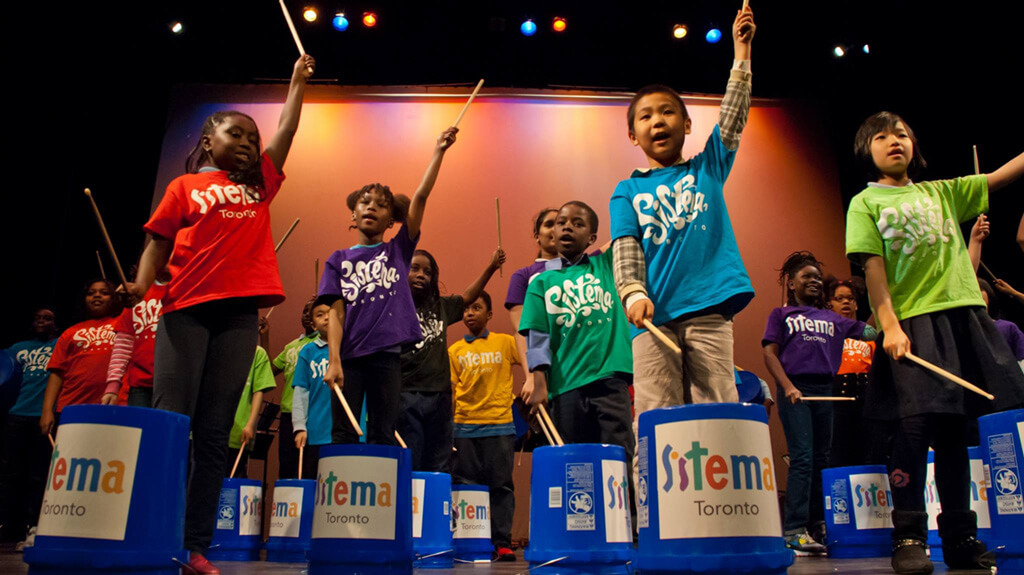 The Ontario provincial government has announced a decision to pull a promised $500,000 in music funding aimed at Toronto at-risk youth run by Sistema Toronto. (Photo courtesy Sistema Toronto)