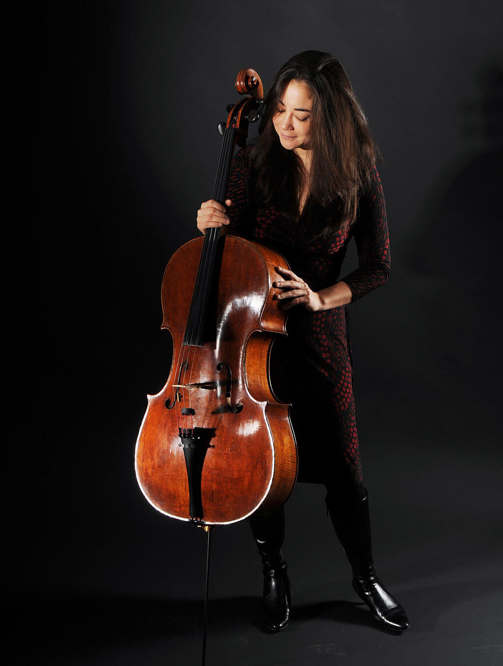 Cellist Rachel Mercer (Photo: Nikki Wesley)
