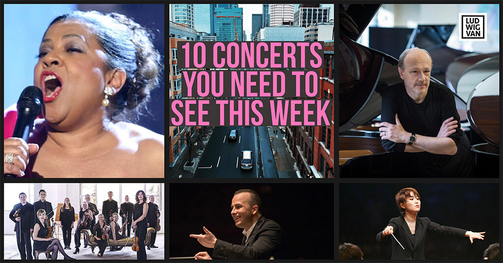 Classical music and opera events happening in and around Toronto for the week of October 1 – 7.
