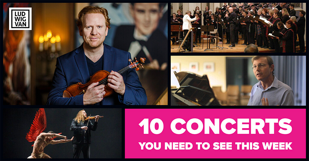 Classical music and opera events happening in and around Toronto for the week of October 29 – November 4.