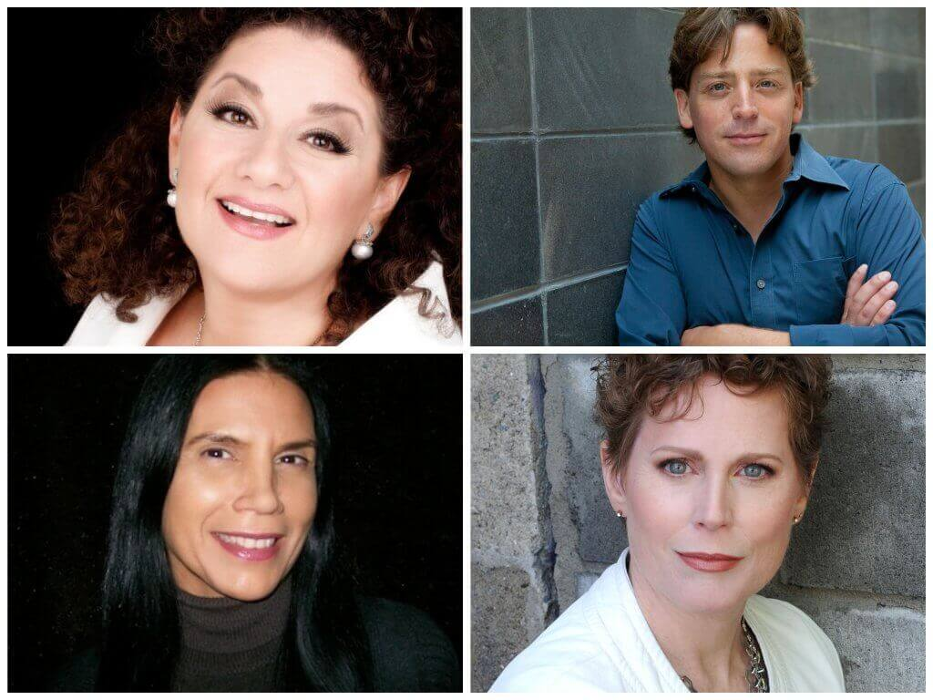 (top l-r) Sharon Azrieli, Brian Current (bottom l-r) Barbara Croall, Kelly-Marie Murphy