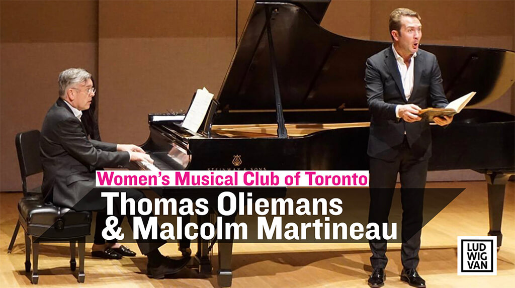 Women's Musical Club of Toronto, Thomas Oliemans