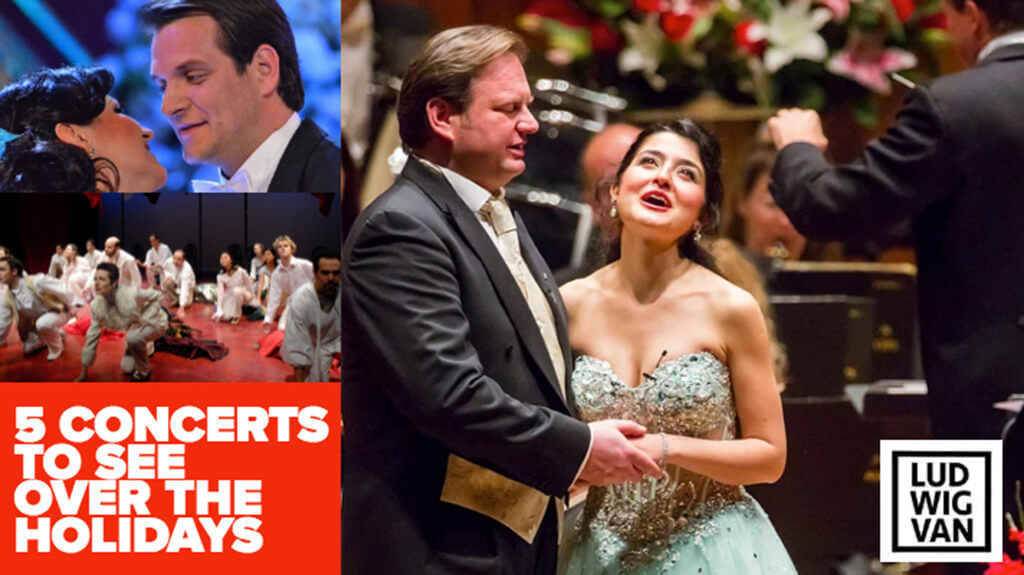 Classical music and opera events happening in and around Toronto for the week of December 24 – January 6.
