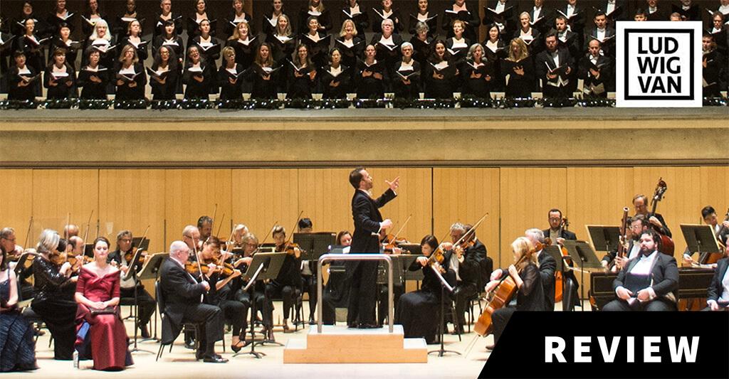 TSO, Johannes Debus, Toronto Mendelssohn Choir (Photo: Jag Gundu)