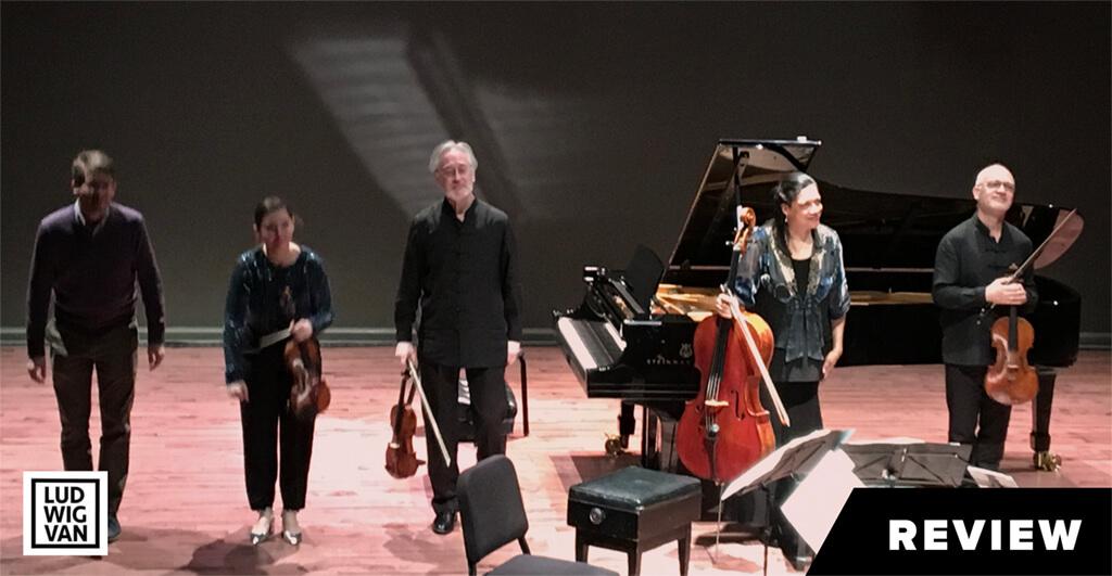 Juilliard Quartet and Marc-André Hamelin (Photo: Arthur Kaptainis)