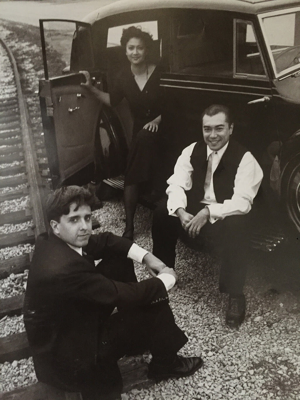 Archival photo of the Gryphon Trio (Courtesy of the Banff Centre)