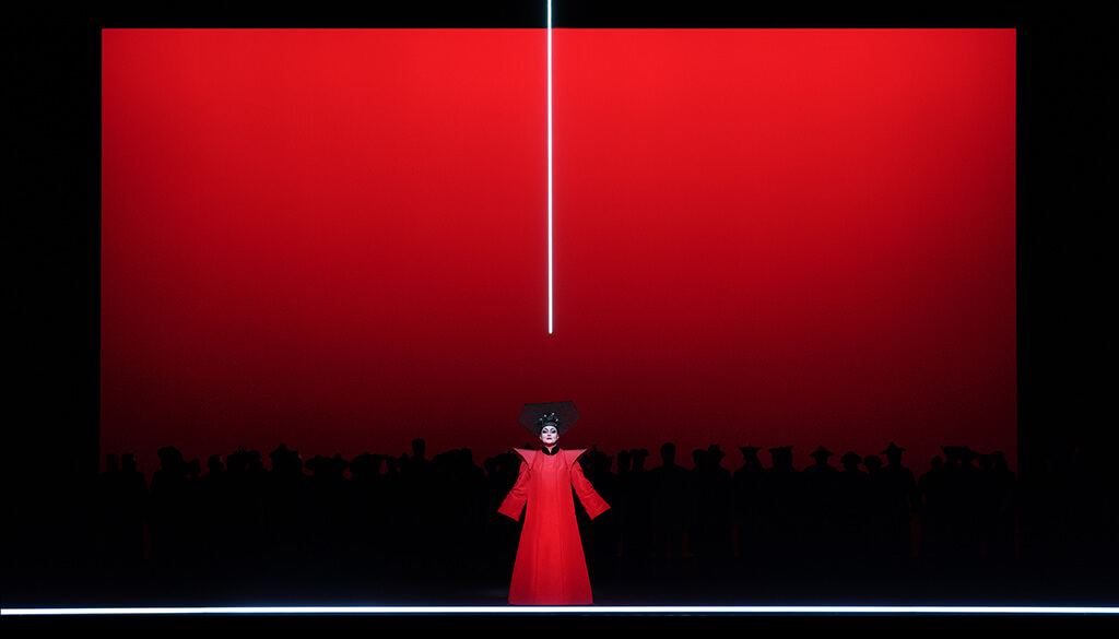 Irene Theorin as Turandot in Turandot (Teatro Real Madrid, 2018) (Photo: Javier del Real)
