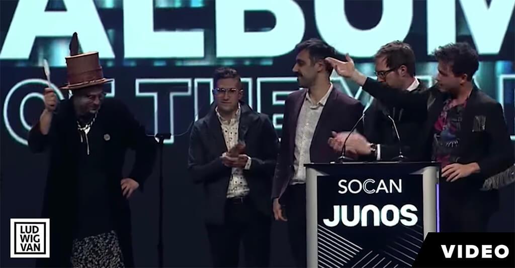 Jeremy Dutcher, 2019 Juno Awards