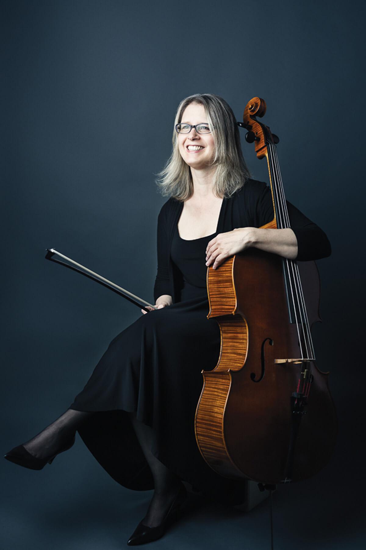 Winona Zelenka, TSO Assistant Principal Cellist (Photo courtesy of the TSO)