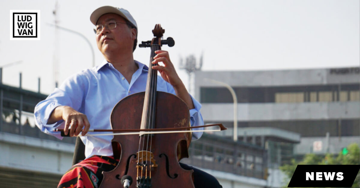 THE SCOOP | Yo-Yo Ma Performs At US-Mexico Border To Make A Point (video)