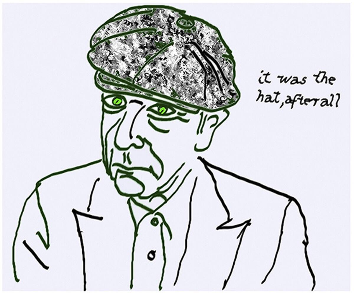 Self Portrait (Leonard Cohen Family Trust)