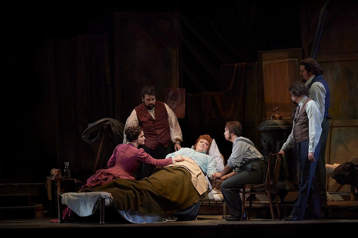 A scene from the Canadian Opera Company's production of La Bohème (Opera for Toronto, 2019) (Photo: Michael Cooper)